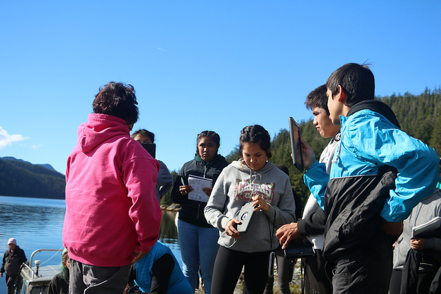 Uu-a-thluk Mapping Project Engages Youth in Stories on the Past and Future