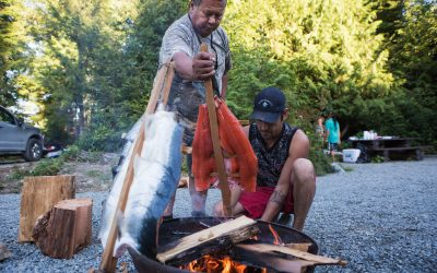 Communities Learn About Harvesting Through Nuu-chah-nulth Values and Principles