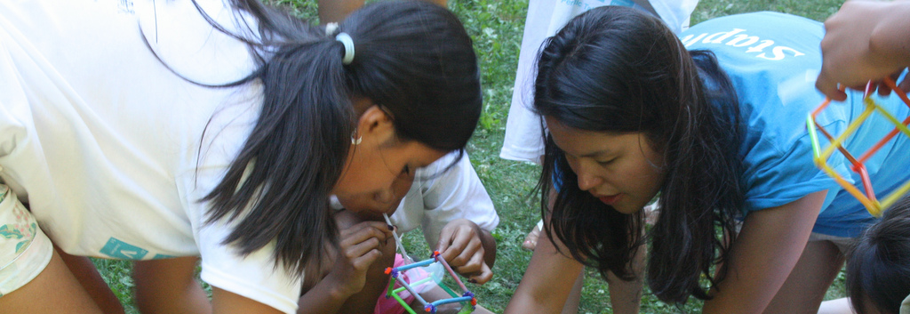 Camp Puts Kids in Touch with Science