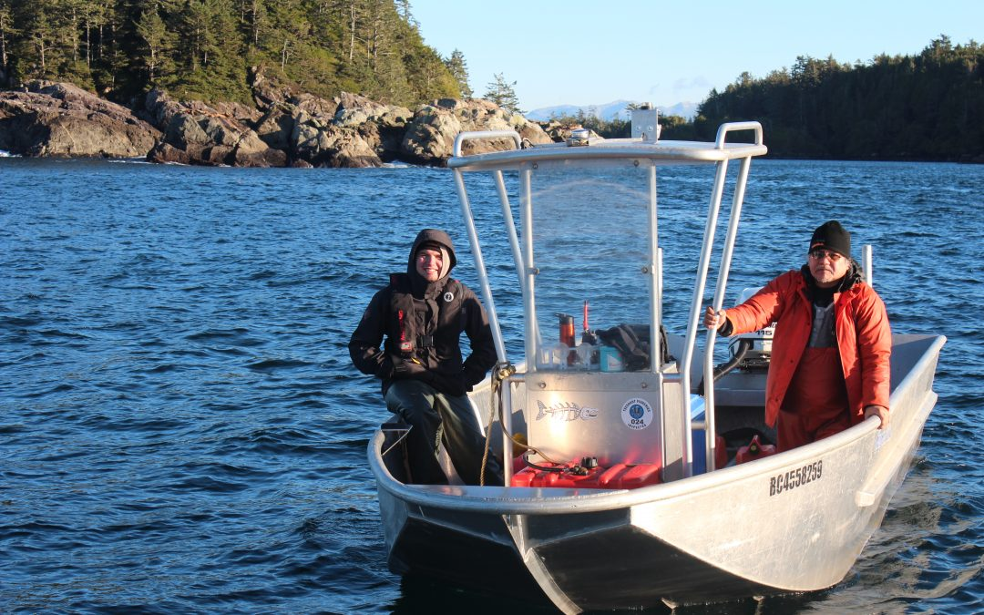 An Uu-a-thluk Biologist Shares his Passion for Nuu-chah-nulth Fisheries
