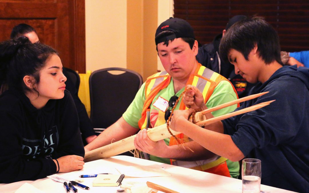 Building confidence by building tuchta: how Gathering Our Voices boosts Indigenous youth
